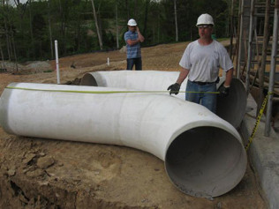Reedy Creek WWTP, Underground Fiberglass Duct for Odor Control